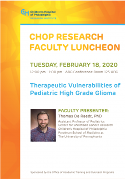 Faculty Luncheon - 2/18/20