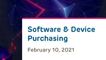 RIS Outreach Session: Software and Device Purchasing