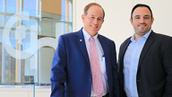 Photo of Ian Jacobs, MD and Dr. Gottardi