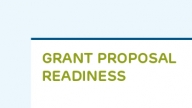 Grant Proposal Readiness