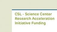 Science Center Funding Announcement
