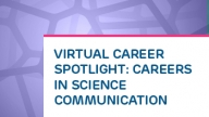 Virtual Career Spotlight