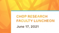 CHOP Research Faculty Luncheon